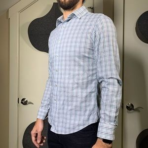 Apt. 9 Button Down Patterned Shirt